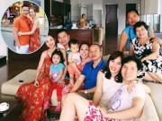 Làng sao - Jennifer Phạm quây quần hạnh phúc bên gia đình nhà chồng