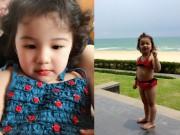 Làm mẹ - Con gái Jennifer Phạm lộ ảnh bikini bụ bẫm đáng yêu