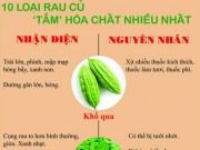 Tin tức - Infographic: 10 loại rau củ 'tắm' hóa chất nhiều nhất