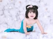 Ảnh đẹp của bé - Lê Trần Hà Phương - AD17976 - Nàng tiên cá dễ thương