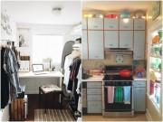 Nhà đẹp - Bày đồ đạc chẳng tốn không gian cho nhà nhỏ