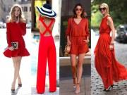 Thời trang - Mùa hè có nên mặc màu đỏ?