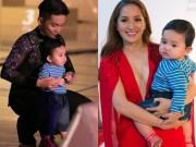 """Con trai Khánh Thi - Phan Hiển khiến bố mẹ bị """"lép vế"""""""