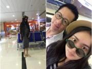 Phan Như Thảo bụng bầu 4 tháng đi du lịch cùng chồng