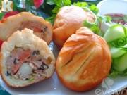 Bếp Eva - Bánh bao chiên thơm ngon, bổ dưỡng