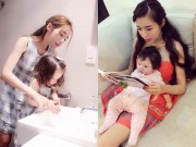 Làm mẹ - Những bức ảnh chứng minh Elly Trần là bà mẹ khéo nuôi con