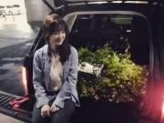 """Làng sao - Ahn Jae Hyun tặng hoa ngỏ lời cầu hôn """"Cỏ"""" Goo Hye Sun"""