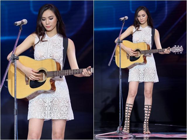 Cô gái chân dài như Hồ Ngọc Hà, hát như Mỹ Tâm hút hồn giám khảo X-Factor
