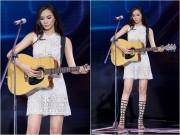 Làng sao - Cô gái 'chân dài như Hồ Ngọc Hà, hát như Mỹ Tâm' hút hồn giám khảo X-Factor
