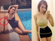 Thời trang - Những mỹ nhân Việt bị bóc mẽ vì chỉnh sửa ảnh quá đà
