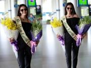Hoa hậu Trái đất 2015- Angelia Ong tới thăm Việt Nam