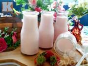 Bếp Eva - Sữa chua dâu thơm ngon mát lạnh