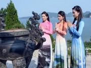 Thời trang - Top 36 Hoa hậu Biển Việt Nam 2016 đọ sắc trong tà áo dài