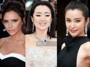 Làm đẹp - Makeup đơn sắc thống trị thảm đỏ Cannes 2016