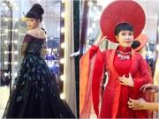 Việt Hương lộng lẫy thử trang phục cho gala VN ' s Got Talent