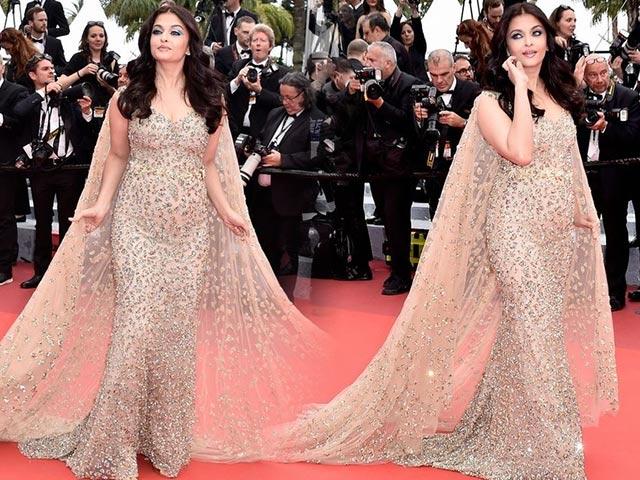 Hoa hậu đẹp nhất mọi thời đại Aishwarya Rai lại béo ú