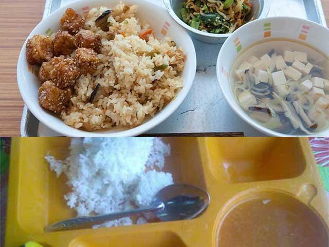 Bữa cơm của trẻ tiểu học Việt Nam và Nhật: đối lập đến chạnh lòng!