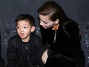 Làng sao - Con trai Hà Hồ được chú ý hơn mẹ tại sự kiện