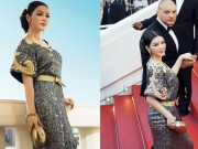 Thời trang - Lý Nhã Kỳ được bảo vệ cẩn mật tại Cannes