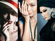 Làm đẹp - Những kiểu make-up ám ảnh trong Tuần Nhà thiết kế thời trang