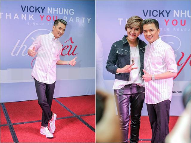 Đàm Vĩnh Hưng được học trò Vicky Nhung gọi là đại ca