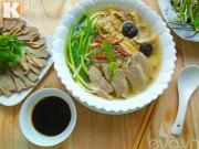 Bếp Eva - Bữa sáng ngon mê với miến ngan