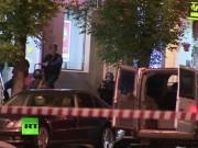 Tin tức - Nga: Táo tợn xông vào cướp ngân hàng, khống chế con tin