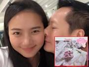 """Phan Như Thảo khoe khéo mang bầu """"công chúa"""""""