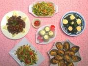 Món ngon nhà mình - Ăn cơm ngon miệng với nhiều món hấp dẫn - MN28672