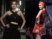 Thời trang - Hoa hậu Diễm Hương tự tin làm mẫu dù chỉ cao 1m71