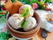 Bếp Eva - Kem xôi dừa thơm ngon, lạnh tê lưỡi