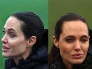 Fan xót xa khi Angelina Jolie ngày càng gầy gò tiều tụy