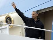 Tin tức - Ảnh: Ông Obama lên Không lực Một, rời Mỹ đến Việt Nam