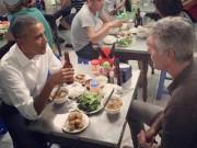 """Tin tức - Chủ quán bún chả: """"Tay ông Obama rất ấm nóng và mềm"""""""