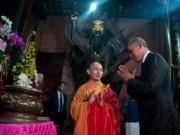 Tin tức - Câu nói bất ngờ của ông Obama trong chùa Ngọc Hoàng