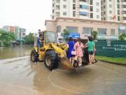 Tin tức - Tối 24.5, Hà Nội mưa lớn gấp đôi trận ngập lịch sử 2008