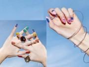 Làm đẹp - 5 mẫu nail vui mắt cho ngày hè rực rỡ