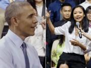 Làng sao - Showbiz 24/7: Báo quốc tế khen màn rap của Suboi trước Obama