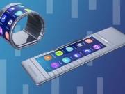 Đồng hồ thông minh màn hình uốn cong quanh cổ tay độc đáo