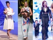 Thời trang - Sao Việt rộ mốt mang con lên sàn diễn thời trang