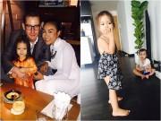 Làng sao - Chồng Đoan Trang yêu chiều vợ và con gái