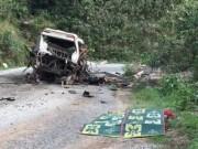 Tin tức - Nổ xe khách tại Lào, 8 người Việt tử vong