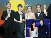 """Song Hye Kyo cố tình """"tránh mặt"""" Lee Byung Hun"""