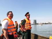 Tin mới chìm tàu trên sông Hàn: Tàu chở 56 người