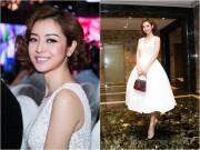 Làng sao - Hoa hậu Jennifer Phạm đẹp như công chúa với tóc xoăn ngắn