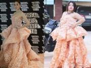"""Thời trang - Nàng béo cực xinh nổi đình nổi đám nhờ màn nhái váy  """" bá đạo """""""