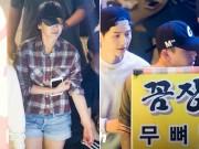 """Làng sao - """"Bỏ rơi"""" Song Hye Kyo, Song Joong Ki quấn quýt bên Yoo Ah In"""