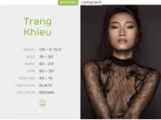 """Trang Khiếu gia nhập công ty quản lý """"thiên thần"""" Victoria's Secret"""