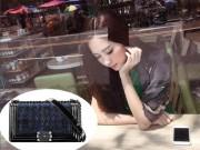 Thời trang - Hoa hậu Thu Thảo âm thầm khoe khéo túi xách trăm triệu