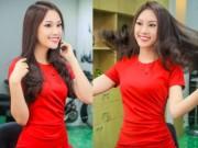 Làm đẹp - Á khôi Phương Linh cực trẻ trung với tóc mới